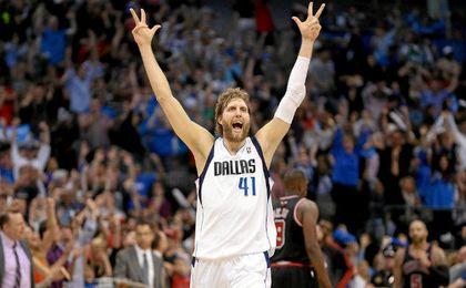 Nowitzki entra en la historia de la NBA.