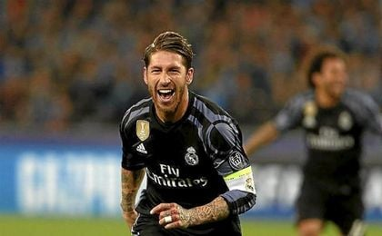 Ramos levanta al Real Madrid