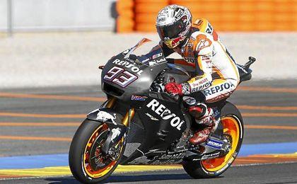 Últimos entrenamientos de motos GP