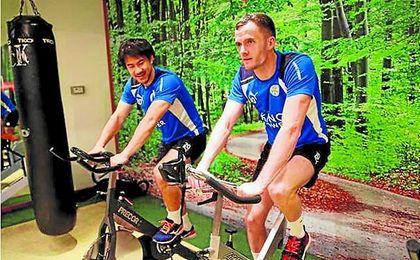 El Leicester ha pasado unos días de lo más relajado en su concentración de Dubai. ED.