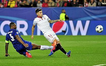 El Sevilla lleva un 2-1 de ventaja a Inglaterra.