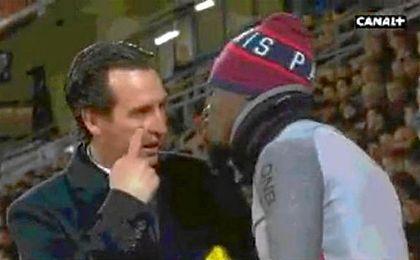 Aurier tuvo una fuerte discusión con Emery