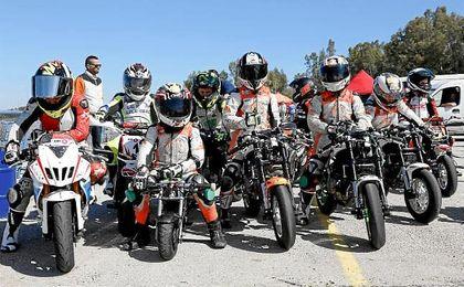 Jerez estrena un nuevo circuito exterior para la práctica de la mini velocidad, supermoto y karting