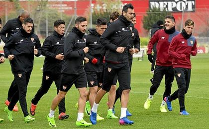 Convocatoria del Sevilla para la visita a Leicester