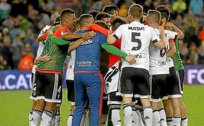 El Valencia venció la temporada pasada en el Nou Camp.