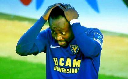 Cedrick, adiós a la temporada en el UCAM Murcia por una lesión de rodilla