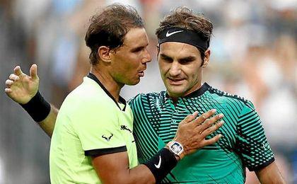 Federer anula a Nadal en Indian Wells y Kyrgios se carga de nuevo a Djokovic