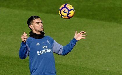 Pepe es duda para visitar al Athletic Club.