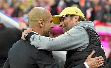 Guardiola y Klopp volverán a verse las caras.