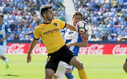 Leganés y Málaga firmaron tablas sin goles.