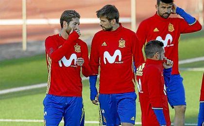 Lopetegui ha hablado sobre la relación de Ramos y Piqué.