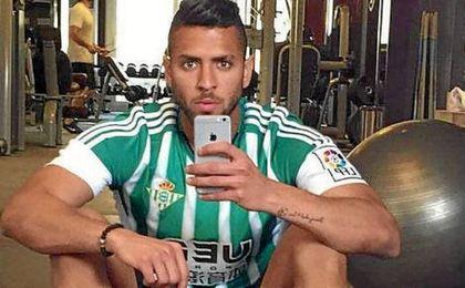 Tarek, en el gimasio.
