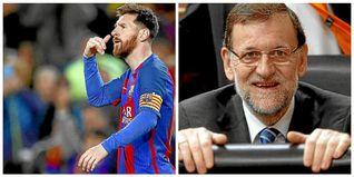 Messi supera a Rajoy