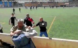 Los padres piden disculpas por la batalla campal ante sus hijos en Mallorca
