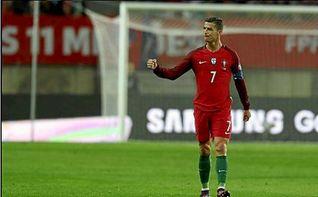 Cristiano Ronaldo alcanza los 70 goles con Portugal