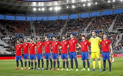 España se medirá a un duro rival.