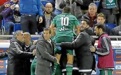 El Betis sólo ganó 9 de 52 partidos de Liga en el campo del Espanyol