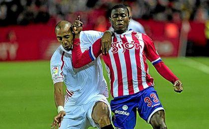 Imagen del Sevilla-Sporting de la pasada temporada.