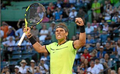 Nadal y Nishikori enfilan semifinales y Raonic se retira por lesión