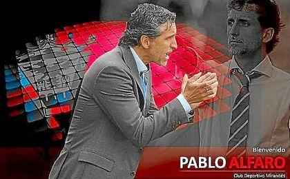 Pablo Alfaro, nuevo entrenador del Mirandés.