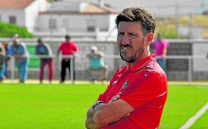 Diego Román, técnico del Gerena.