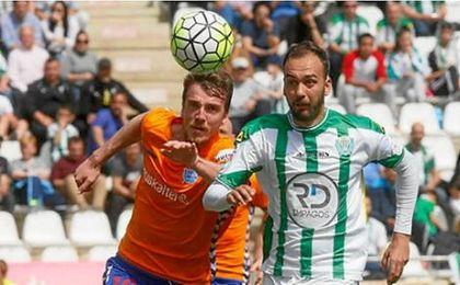 El Córdoba recupera a Deivid después de 5 meses lesionado