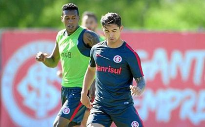 Felipe ya se ejercita con su nuevo equipo.