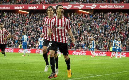 Aduriz ya lleva 102 goles con el Athletic.