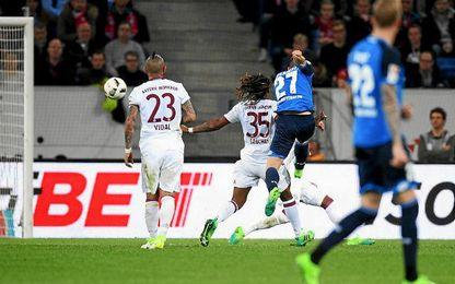 Un gol de Kramaric dio el triunfo al Hoffenheim.