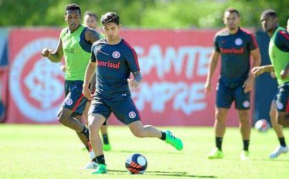 Felipe ya se entrena con su nuevo club.