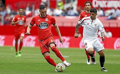 Imagen del Sevilla-Deportivo de la pasada temporada.