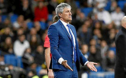 Quique Setién anunció hace algunas semanas que no seguirá en Las Palmas el próximo curso.