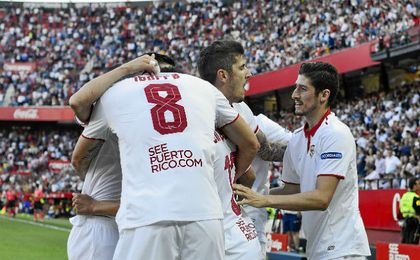 El Sevilla se reencontró con el triunfo ante el Deportivo.