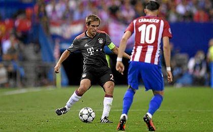 """Lahm: """"Contra el Madrid cada uno tiene que estar en su mejor nivel"""""""