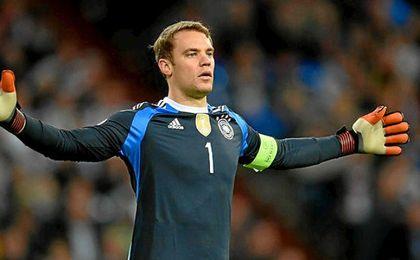 Neuer se recupera para el partido contra el Real Madrid.