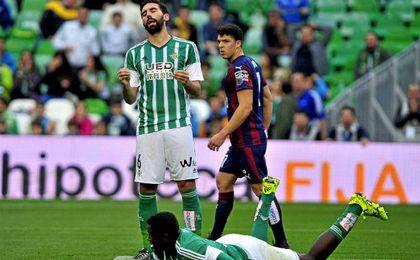 La temporada pasada el Eibar dio una exhibición en el Villamarín.