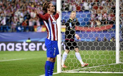 Griezmann anotó el único gol del partido.
