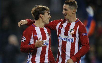 Simeone repite once con Torres y Griezmann en la delantera