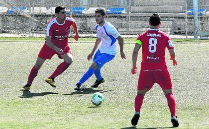 En la imagen, lance del Alcalá-Antoniano disputado el pasado domingo, que finalizó con empate a cero.