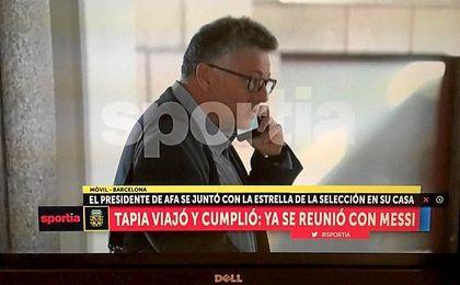 El abogado de Sampaoli, en Barcelona.