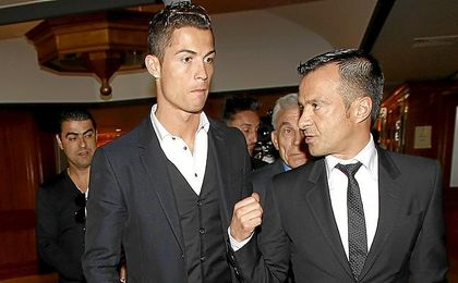Cristiano, con Mendes (Gestifute).