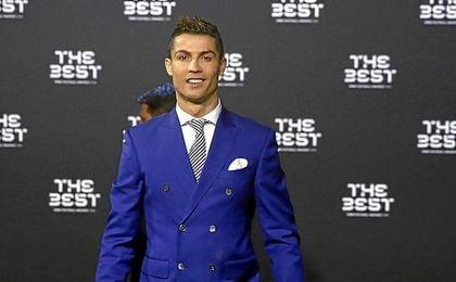 Cristiano Ronaldo, en una gala.