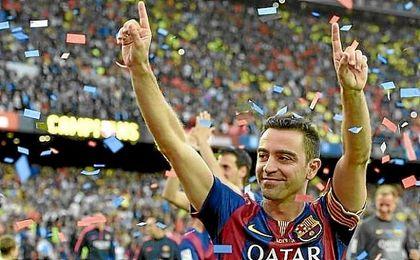 Xavi ve el clásico como una final por la liga.