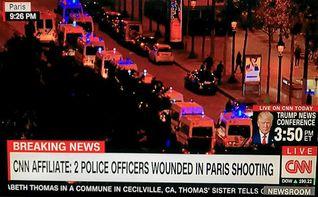 Muere un policía y otro resulta herido en un tiroteo en París