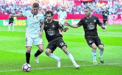 Imagen del Sevilla-Deportivo de LaLiga.