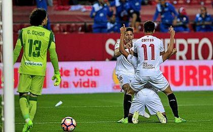 El Sevilla no tuvo rival.