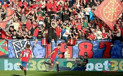 2-2: Osasuna se hunde ante un Sporting que se agarra a sus esperanzas