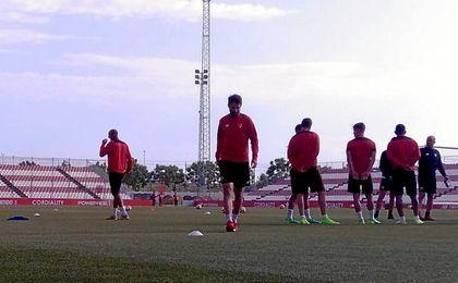 Imagen del entrenamiento.