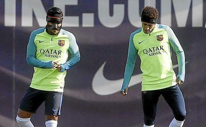 Neymar no jugará el Clásico.
