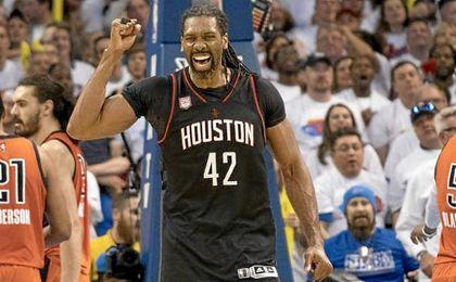 Nené Hilario fue el héroe de los Rockets y los Cavaliers pasan a semifinales
